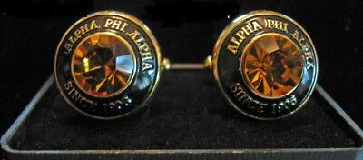 Alpha Phi Alpha Fraternity Cuff Links- New!