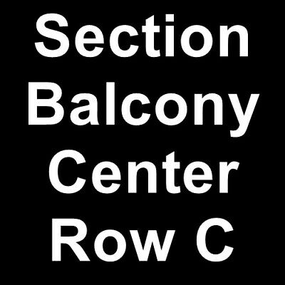 4 Tickets John Mellencamp 4/13/19 Green Bay, WI