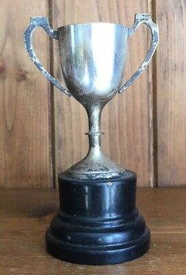 Vintage Silver Plate NOT ENGRAVED trophy, loving cup, trophy, trophies