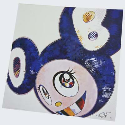 Takashi Murakami Print Edition 300 And Then x 727 (Ultramarine: GUNJO)