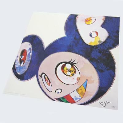 Takashi Murakami Print Edition 300 And Then x 6 (Blue: The Superflat Method)