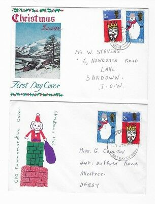 first day cover christmas issue,GPO commemorative cover christmas 1966