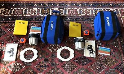 Two ASHTECH Sokkia LOCUS GPS SURVEY RECEIVERS, Crowns, H.I. tapes, manuals
