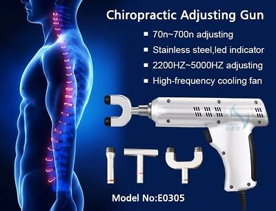 Spinal Correction Chiropractor adjusting gun with 4 Probes 700N high intensity