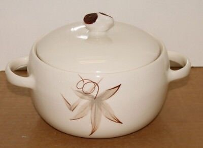 Casserole bowl with lid California Winfield passion flower china 1.5 quart