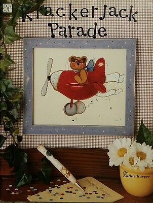Krackerjack Parade By Kathie Rueger Holidays & Christmas Tole Painting Book EUC.