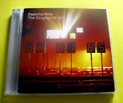 """Cd """" Depeche Mode - The Singles 81>85 """" Best Of / 17 Songs (People Are People)"""