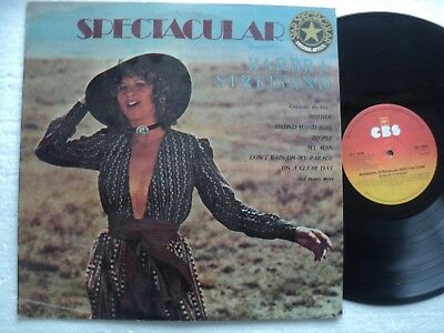 Barbra Streisand - Spectacular - Super rare ZIMBABWE only LP // As new !