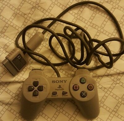 Sony PlayStation 1 Controller PS1 Original Official Digital CLEANED TESTED*GOOD