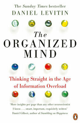 NEW The Organized Mind By Daniel J. Levitin Paperback Free Shipping