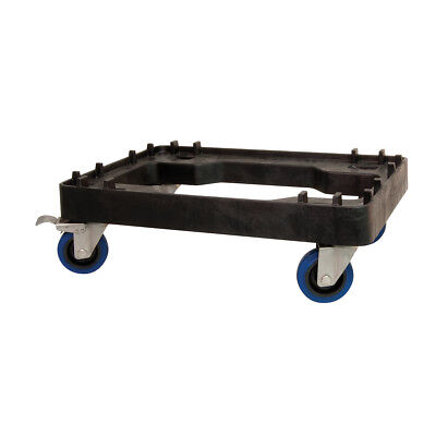 Skate Dolly for Food Storage Tubs Black Okka Mobile Transport Castors Wheels