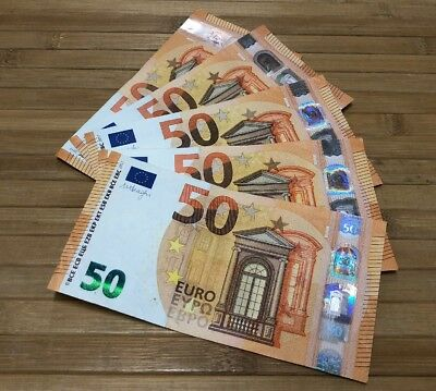 50 € Euro Bill - Foreign Currency REAL Europe Bank Note European Union