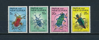 Papua New Guinea  #237-40 MNH ,  Insects, 1967