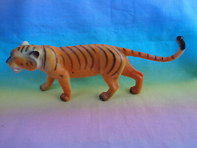 Orange Bengal Tiger Greenbrier International Wildlife Figure Cake Topper - as is