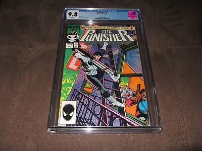 Punisher 1 CGC 9.8 NM/Mint (Marvel 1987) White Pages
