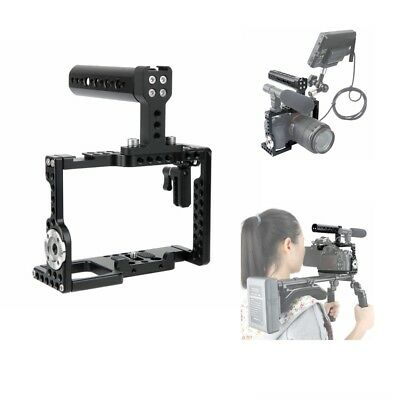 US Niceyrig A7/A7S/A7R Camera Cage Kit w/With Top Handle Lock ARRI Rosette