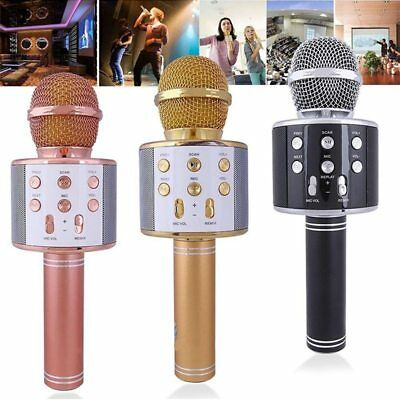 Wireless Car Karaoke KTV Microphone Bluetooth Handheld mic For iphone Android