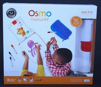 Osmo Creative Kit with 3 hands-on Games Monster Newton Masterplace Free Shipping