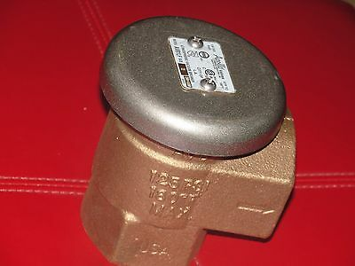 "Apollo AVB1LF Bronze Atmospheric Hot Cold Lead Free Vacuum Breaker 2"" NPT Female"