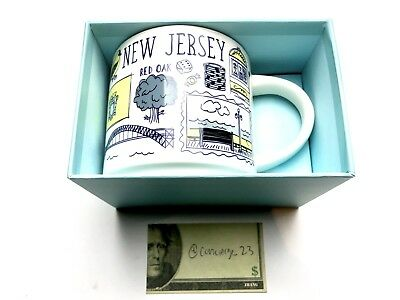 Starbucks Been There Series Collection New Jersey Coffee Mug New With Box