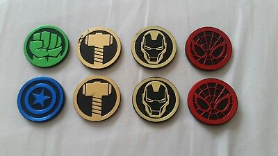 RARE Marvel Infinity Gauntlet Dig It Avengers Gem GOLD IRON MAN CHARACTER COIN