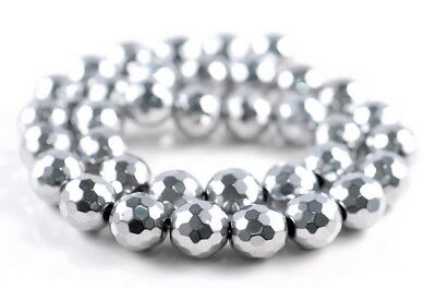 """3X2MM SILVER HEMATITE GEMSTONE FACETED RECTANGLEÿ 3X2MM LOOSE BEADS 15.5/"""""""