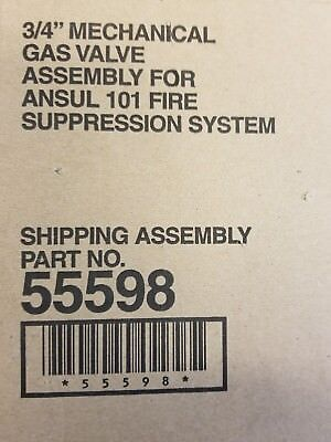 """Ansul PN 55598 3/4"""" Gas Valve for R-102 system"""