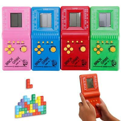 High quality LCD Game Classic Vintage Tetris Brick Arcade Pocket Toys #R