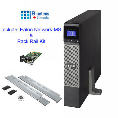 Eaton 5PX UPS 1500RTN 120V 2U Rack/Tower with Network Card and RackRail Kit