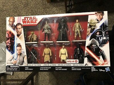 "Star Wars 3.75/"" Obi-Wan Kenobi Loose from Target Era of the Force 8 Pack"