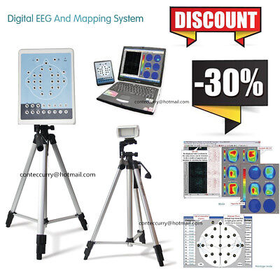 Digital Brain Electric Activity Mapping EEG Machine 16 Channel+2Tripods Software