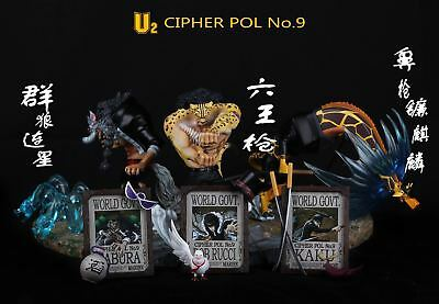U2 MODEL ONE Piece CP9 Leopard Rob Lucci Limited Collection Resin Statue