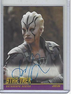 Star Trek Beyond Movie (2017) Sofia Boutella autograph