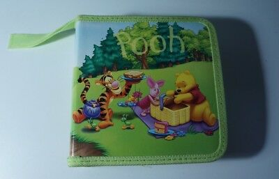 Disney Pooh CD Case / Holder 32 Slot - Genuine - edc
