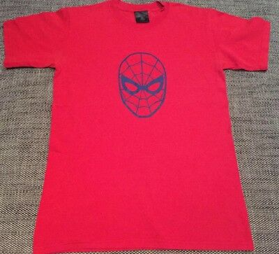 Vintage Marvel Amazing Spiderman 70s Logo T-Shirt Red Small