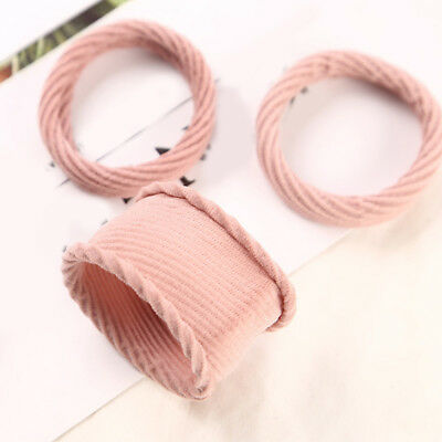 Women Hair Band Tie Elastic Rubber Bands Hair Ropes Ponytail Holder Hair Ring#