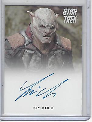 Star Trek Beyond Movie (2017) Kim Kold autograph
