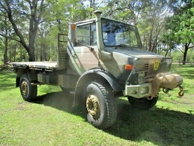 Mercedes Benz Unimog UL1700L 1983 with winch excellent condition