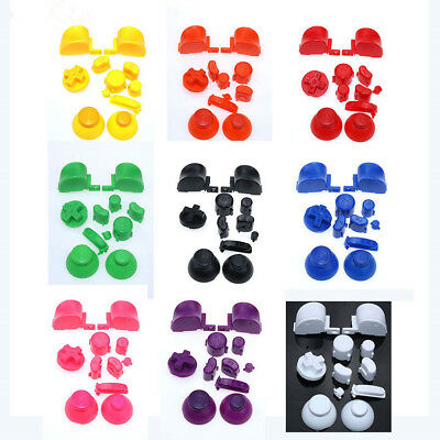 Gamecube Controller Mod Colorful Complete button set with Thumbsticks 18 Colors