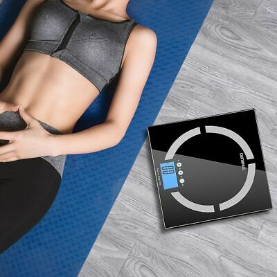 180KG Smart Body Fat Weight Scale LCD Display Body Health Monitor Scales BMI