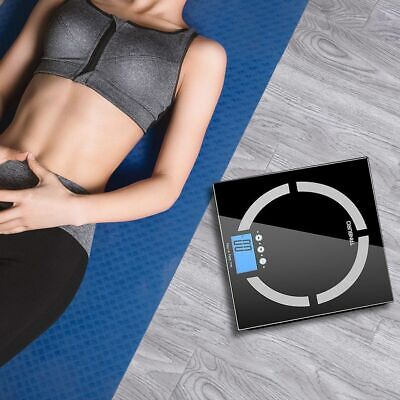 180KG Smart Body Fat Weight Scale LED Display Bluetooth APP Body Health Monitor