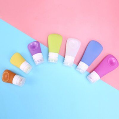 1PC Cute Silicone Travel Portable Bottles Shampoo Mini Makeup B0