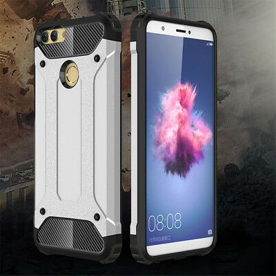 For Huawei P Smart/P9 P10 P20 Lite/3E Shockproof Hybrid Rugged Armor Cover Case