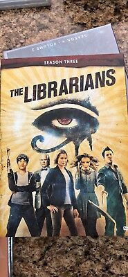 The Librarians - Season Three Complete DVD Set - Brand New
