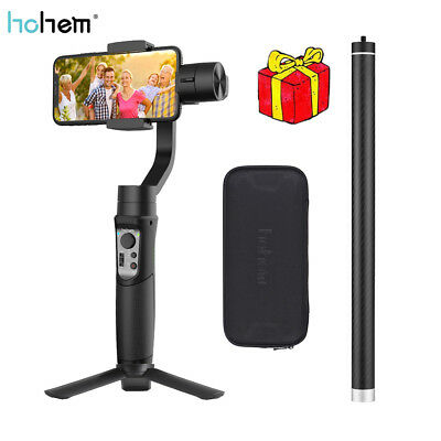 Hohem iSteady Mobile 3-Axis Handheld Gimbal Stabilizer Rod f iPhone Samsung O2N1