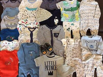 *Baby Clothes/Lovely Collection/Bundle Of Baby Boys Newborn Clothing*