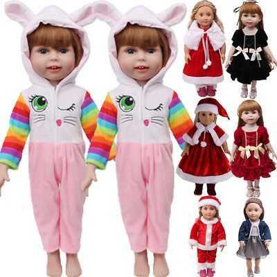 US Fashion Outfit Dress Xmas Clothes for 18' Girl Our Generation My Life Doll