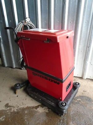 Gansow 17 K 42 240v scrubber dryer work shop cleaner