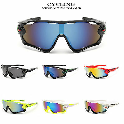 New Outdoor Sport Cycling Bicycle Bike Riding Sunglasses Eyewear Goggle UV400 US