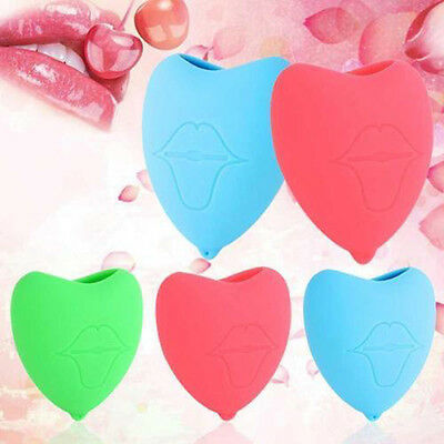 Silicone Love Heart Magnifier Lip Plumper Pump Enhancer For Lip Increase